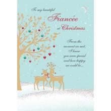 Fiancee Trad 75 Christmas Cards