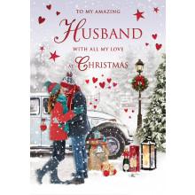 Husband Trad 75 Christmas Cards