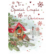 Special Couple Trad 75 Christmas Cards