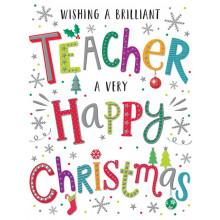 Teacher 60 Christmas Cards