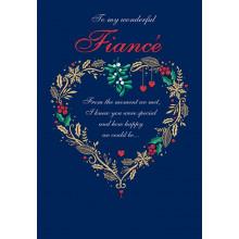 Fiance Trad 75 Christmas Cards