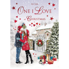 O.I.L Neut Tr 75 Christmas Cards