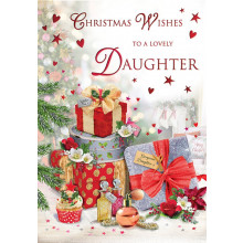 Daughter Trad 75 Christmas Cards