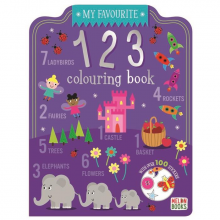 My Favourite Colouring 123 Book