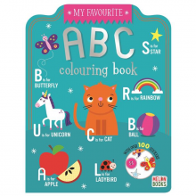 My Favourite Colouring ABC Book