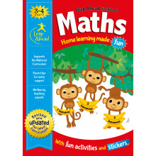 Help with Homework Book Maths Ages 3-4