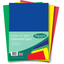 DV004 Diamond Value Coloured Card 20's