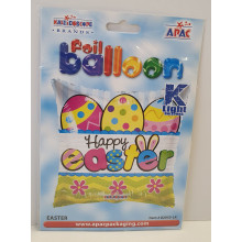 Foil Balloon Easter Pillow