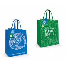 Recycled Tote Bag 2 asst