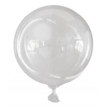 """18"""" Vortex Sphere Balloon Clear"""