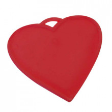 Balloon Weight Red Heart
