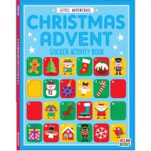 Little Adventures Christmas Advent Sticker Activity Book