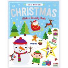 Little Adventures Christmas Sticker Activity Book