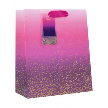 Gift Bag Vivid Ombre Medium