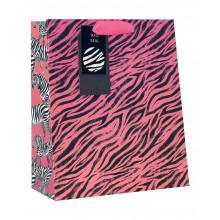 Gift Bag Zebra Sunset Medium