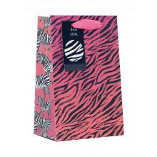 Gift Bag Zebra Sunset Small