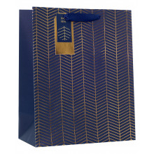 Gift Bag Chevron Large