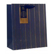 Gift Bag Chevron Medium