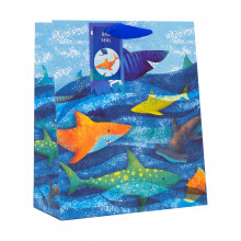 Gift Bag Ocean Party Medium