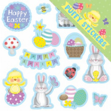 EA2011 Easter Puffy Stickers