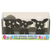 EA2041 Easter Sheep 3.5cm Boxed 3's