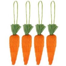 8cm Easter Carrot 4's