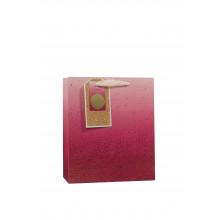 Gift Bag Ombre Pink Medium