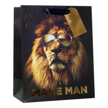 Gift Bag Mane Man Large