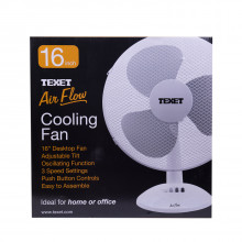"""16"""" Electric Air Flow Cooling Desk / Counter Fan"""