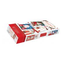 Flat Box Santa Open Christmas Cards