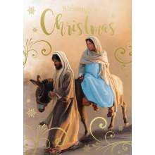 Open Flatbox Religious xmas Cards