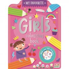 Books My Favourite Colouring Girls