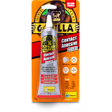 Gorilla Clear Contact Glue Adhesive 75g