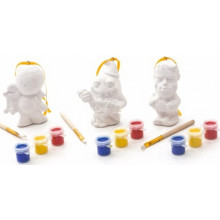 HW1913 Paint Your Own Figurines 3 Asst