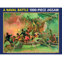 1000pc Jigsaw Puzzle A Naval Battle
