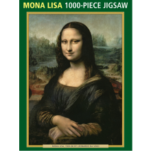 1000pc Jigsaw Puzzle Mona Lisa
