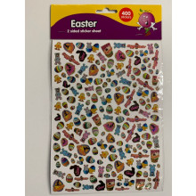 EA2012 A5 Easter Stickers