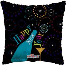 """New Year Pillow Foil Balloon 18"""""""