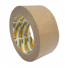 Stikky Tape 48mm x 50M Brown KRAFT Parcel Tape Roll (not barcoded)