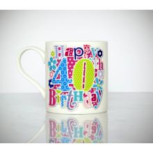 Milestone Mug 40th Female
