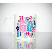 Milestone Mug 60th Female