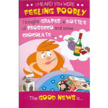 Cards Cherry Orchard ML365 Get Well C75