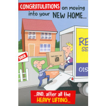 Cards Cherry Orchard ML367 New Home C75