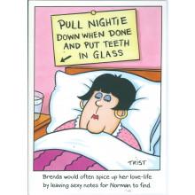 Norman & Brenda Cards NOR104 Open Humour