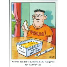 Norman & Brenda Cards NOR110 Open Humour