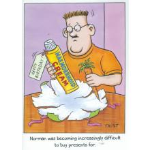 Norman & Brenda Cards NOR111 Open Humour