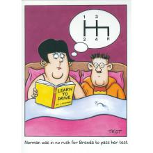 Norman & Brenda Cards NOR113 Open Humour