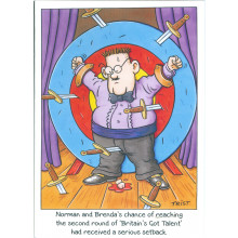 Norman & Brenda Cards NOR114 Open Humour