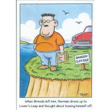 Norman & Brenda Cards NOR119 Open Humour