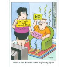 Norman & Brenda Cards NOR121 Open Humour